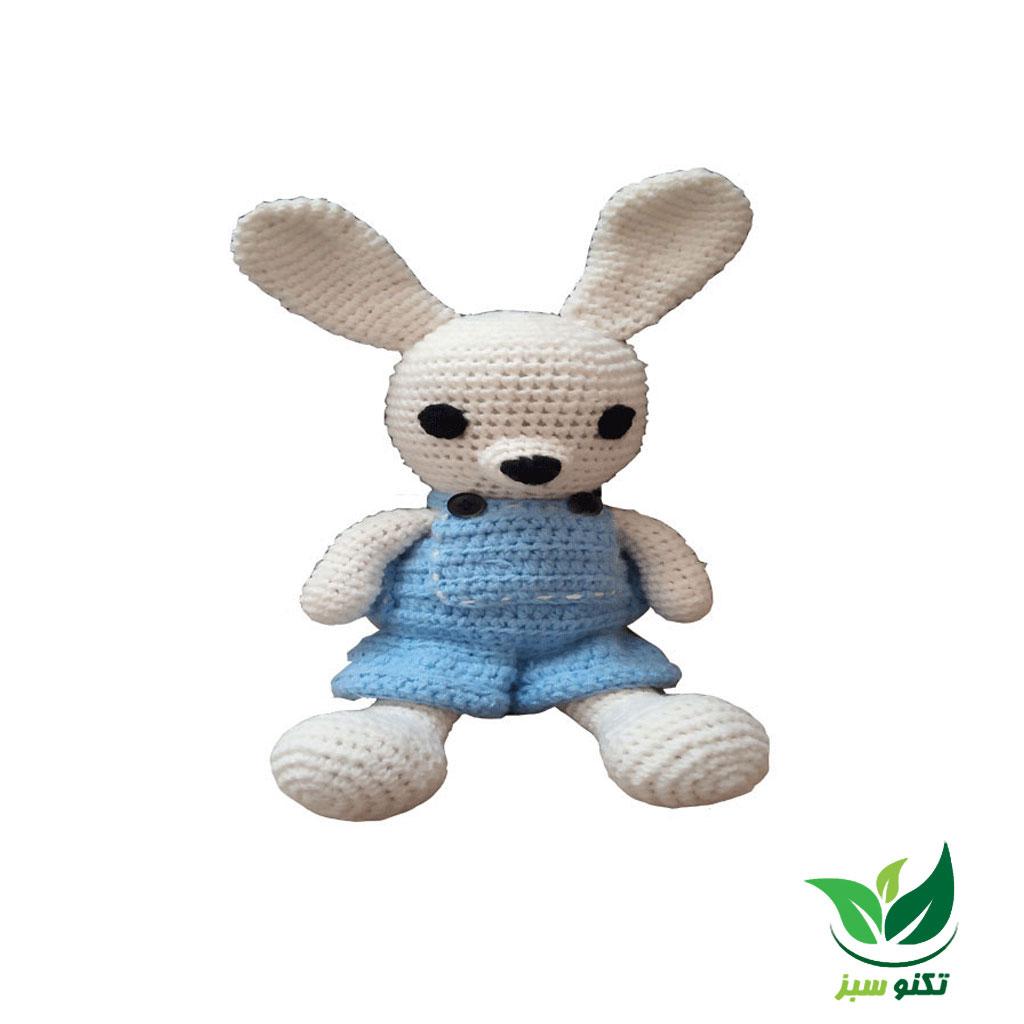 خرگوش بافتنی کد 1654